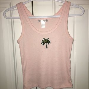 Tops - Handmade patches tank top